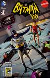 Cover Thumbnail for Batman '66 (2013 series) #1 [SDCC 2013 Mattel Cover]