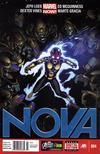 Cover for Nova (Marvel, 2013 series) #4 [Newsstand]