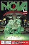 Cover for Nova (Marvel, 2013 series) #5 [Newsstand]