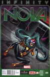 Cover Thumbnail for Nova (2013 series) #9 [Newsstand]