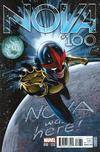 Cover for Nova (Marvel, 2013 series) #10 (100) [J.G. Jones Variant]