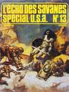 Cover for L'Écho des Savanes Spécial U.S.A. (Editions du Fromage, 1976 series) #13