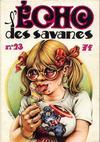 Cover for L'Écho des savanes (Editions du Fromage, 1972 series) #23