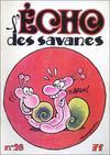 Cover for L'Écho des savanes (Editions du Fromage, 1972 series) #28