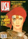 Cover for USA magazine (Comics USA, 1987 series) #37