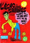 Cover for L'Écho des savanes (Editions du Fromage, 1972 series) #9