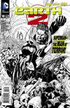 Cover for Earth 2 (DC, 2012 series) #18 [Ethan Van Sciver Black & White Cover]