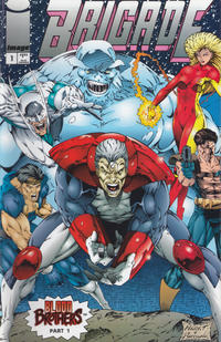 Cover for Brigade (Image, 1993 series) #1