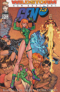 Cover Thumbnail for Gen 13 (Image, 1995 series) #25 [Wraparound Cover]
