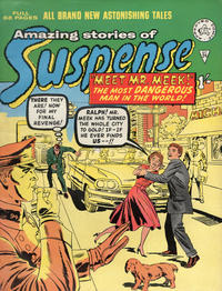 Cover Thumbnail for Amazing Stories of Suspense (Alan Class, 1963 series) #24