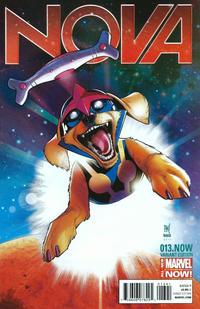 Cover Thumbnail for Nova (Marvel, 2013 series) #13.NOW [Paco Medina Marvel Animals Variant]
