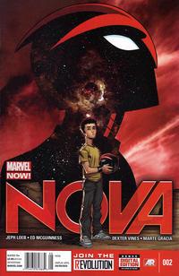 Cover Thumbnail for Nova (Marvel, 2013 series) #2 [Newsstand]