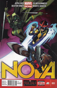 Cover Thumbnail for Nova (Marvel, 2013 series) #3 [Newsstand]