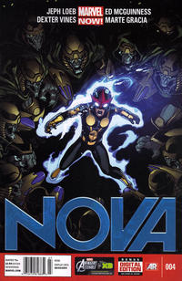 Cover Thumbnail for Nova (Marvel, 2013 series) #4 [Newsstand]