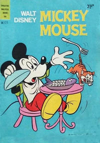 Cover Thumbnail for Walt Disney's Mickey Mouse (W. G. Publications; Wogan Publications, 1956 series) #221