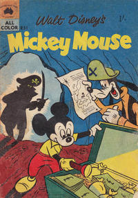 Cover Thumbnail for Walt Disney's Mickey Mouse (W. G. Publications; Wogan Publications, 1956 series) #51