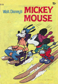 Cover Thumbnail for Walt Disney's Mickey Mouse (W. G. Publications; Wogan Publications, 1956 series) #151