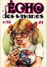 Cover Thumbnail for L'Écho des savanes (Editions du Fromage, 1972 series) #23