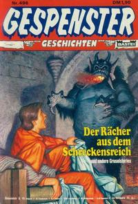 Cover Thumbnail for Gespenster Geschichten (Bastei Verlag, 1974 series) #496