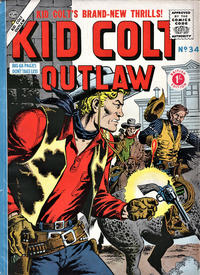 Cover Thumbnail for Kid Colt Outlaw (Thorpe & Porter, 1950 ? series) #34