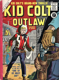 Cover Thumbnail for Kid Colt Outlaw (Thorpe & Porter, 1950 ? series) #39