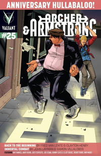 Cover Thumbnail for Archer and Armstrong (Valiant Entertainment, 2012 series) #25 [Cover A - Clayton Henry]