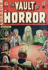 Cover Thumbnail for Vault of Horror (Superior Publishers Limited, 1950 series) #25