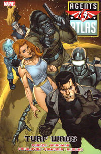 Cover Thumbnail for Agents of Atlas: Turf Wars (Marvel, 2010 series)
