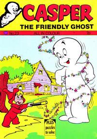 Cover Thumbnail for Casper the Friendly Ghost (Thorpe & Porter, 1973 series) #23