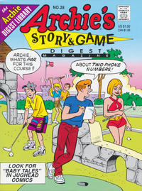 Cover Thumbnail for Archie's Story & Game Digest Magazine (Archie, 1986 series) #28 [Direct]