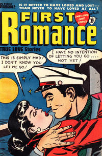 Cover Thumbnail for First Romance (Magazine Management, 1952 series) #19