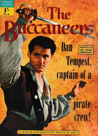 Cover Thumbnail for A Movie Classic (World Distributors, 1956 ? series) #33 - The Buccaneers