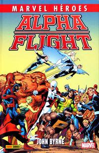 Cover Thumbnail for Marvel Héroes (Panini España, 2012 series) #56 - Alpha Flight de John Byrne