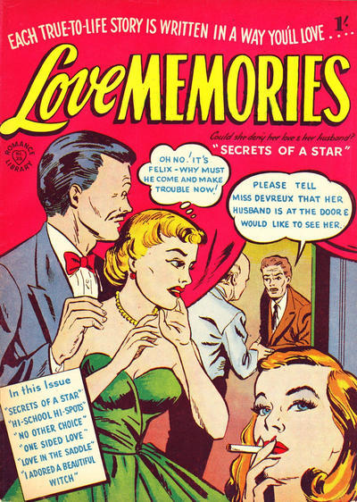 Cover for Romance Library (Magazine Management, 1951 ? series) #26