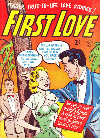 Cover for Romance Library (Magazine Management, 1951 ? series) #30