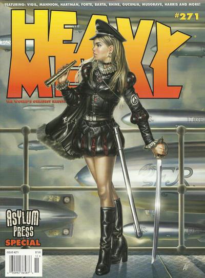 Cover for Heavy Metal Magazine (Heavy Metal, 1977 series) #271 - Asylum Press Special
