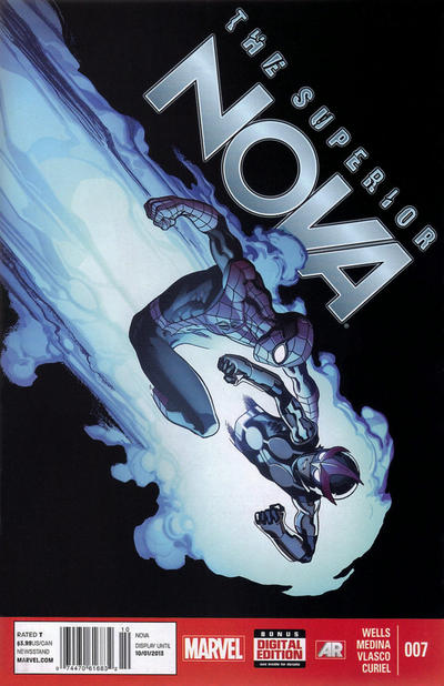 Cover for Nova (Marvel, 2013 series) #7 [Newsstand]