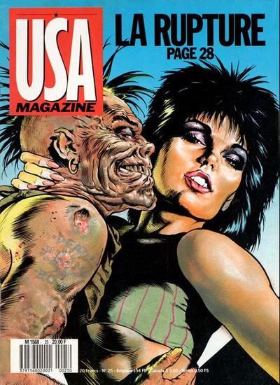 Cover for USA magazine (Albin Michel, 1986 series) #25