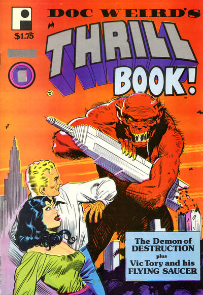 Cover for Doc Weird's Thrill Book (Pure Imagination, 1987 series) #1