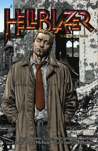 Cover for John Constantine, Hellblazer (DC, 2011 series) #4 - The Family Man
