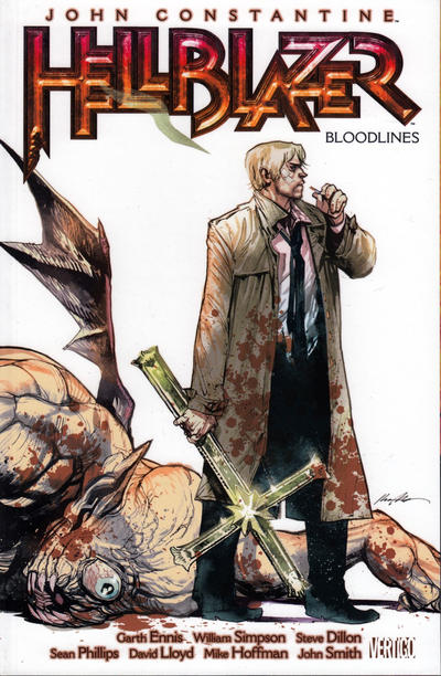 Cover for John Constantine, Hellblazer (DC, 2011 series) #6 - Bloodlines