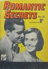 Cover for Romantic Secrets (Cleland, 1952 series) #10