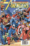 Cover for Avengers (Marvel, 1998 series) #1 [Yellow Logo Newsstand Edition]