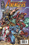 Cover for Avengers (Marvel, 1996 series) #8 [Direct Edition]