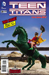 Cover for Teen Titans (DC, 2011 series) #29 [Robot Chicken Cover]