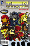 Cover for Teen Titans (DC, 2011 series) #27 [Scribblenauts Unmasked Cover]
