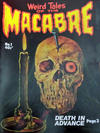 Cover for Weird Tales of the Macabre (Gredown, 1977 series) #1