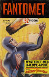 Cover for Fantomet (Romanforlaget, 1966 series) #1/1967