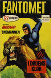 Cover for Fantomet (Romanforlaget, 1966 series) #9/1968