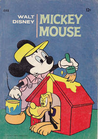 Cover Thumbnail for Walt Disney's Mickey Mouse (W. G. Publications; Wogan Publications, 1956 series) #144